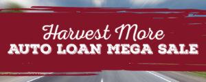 Auto Loan Mega Sale