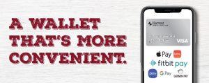 Mobile Wallet for Harvest FCU Credit Card