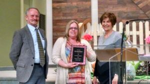 Lisa Dickerson, 20years of service