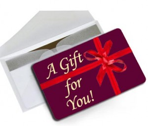 Gift card picture